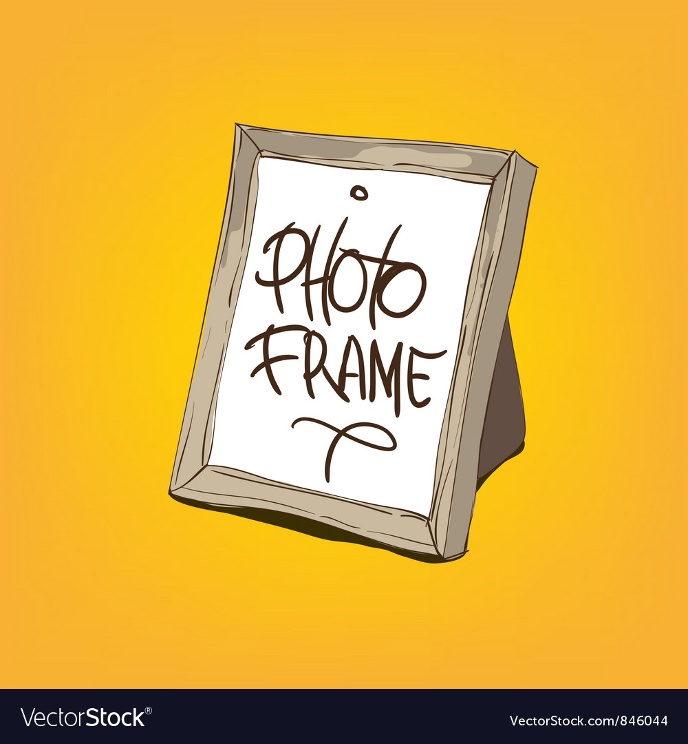 Blank picture frame vector | Price: 1 Credit (USD $1)