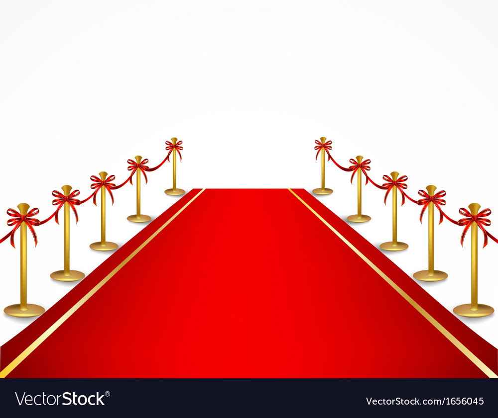 A red carpet and velvet rope vector | Price: 1 Credit (USD $1)
