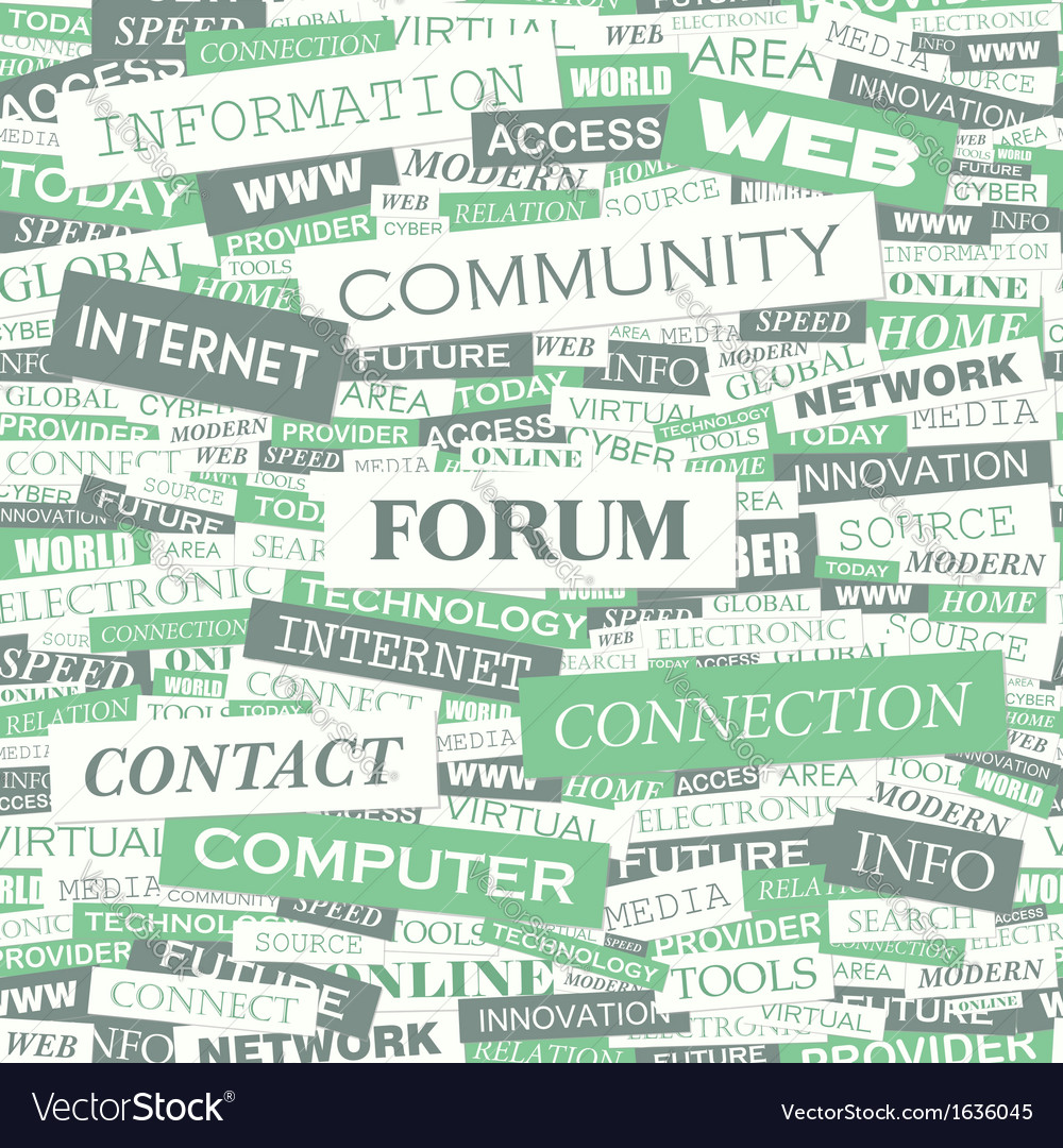 Forum vector | Price: 1 Credit (USD $1)