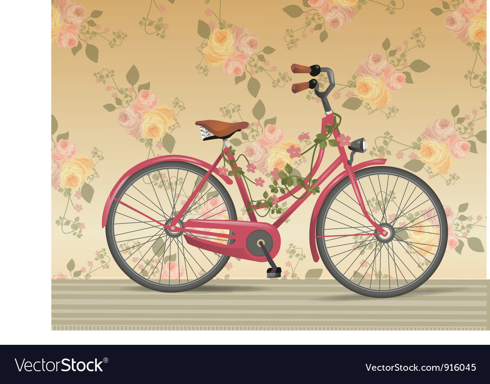 Vintage bike vector | Price: 3 Credit (USD $3)