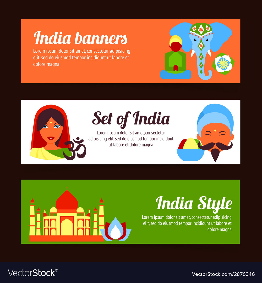 India mini poster vector | Price: 1 Credit (USD $1)