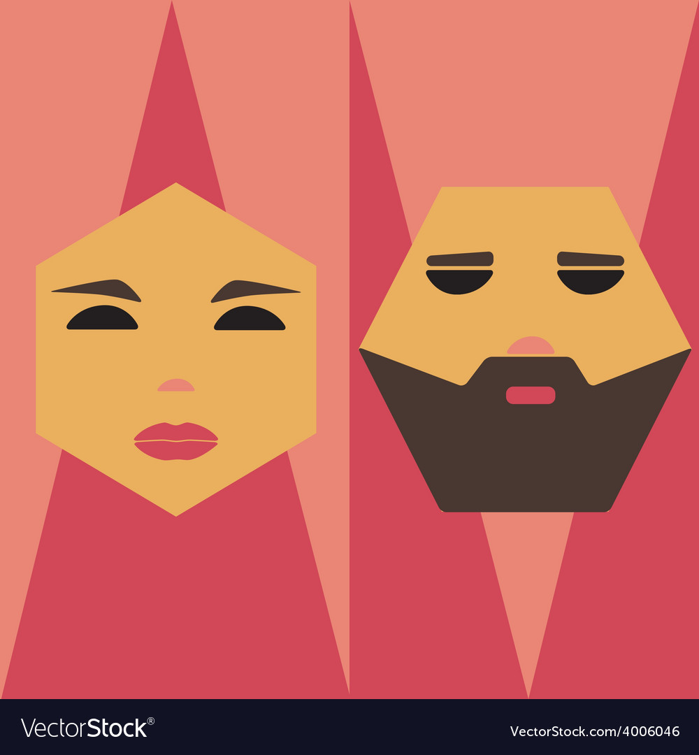 Male and female signs vector | Price: 1 Credit (USD $1)