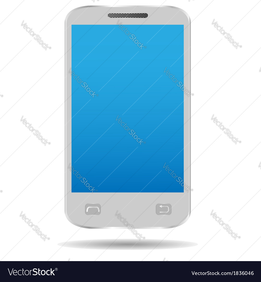 Smart mobile phone vector | Price: 1 Credit (USD $1)