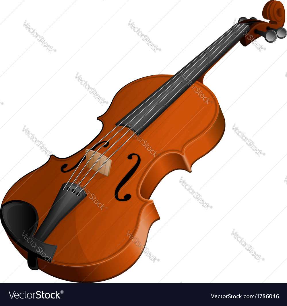 Violin vector | Price: 1 Credit (USD $1)