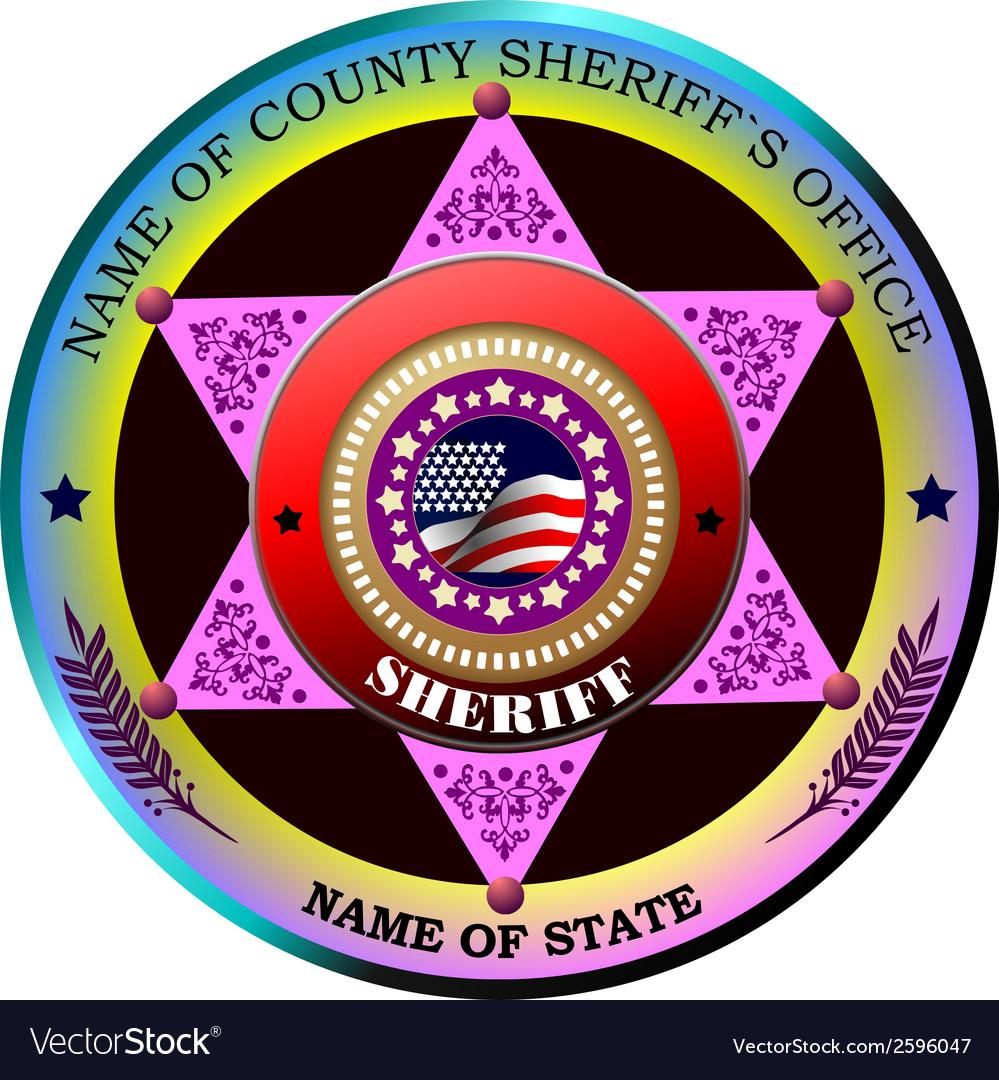 Al 0433 sheriff 01 vector | Price: 1 Credit (USD $1)