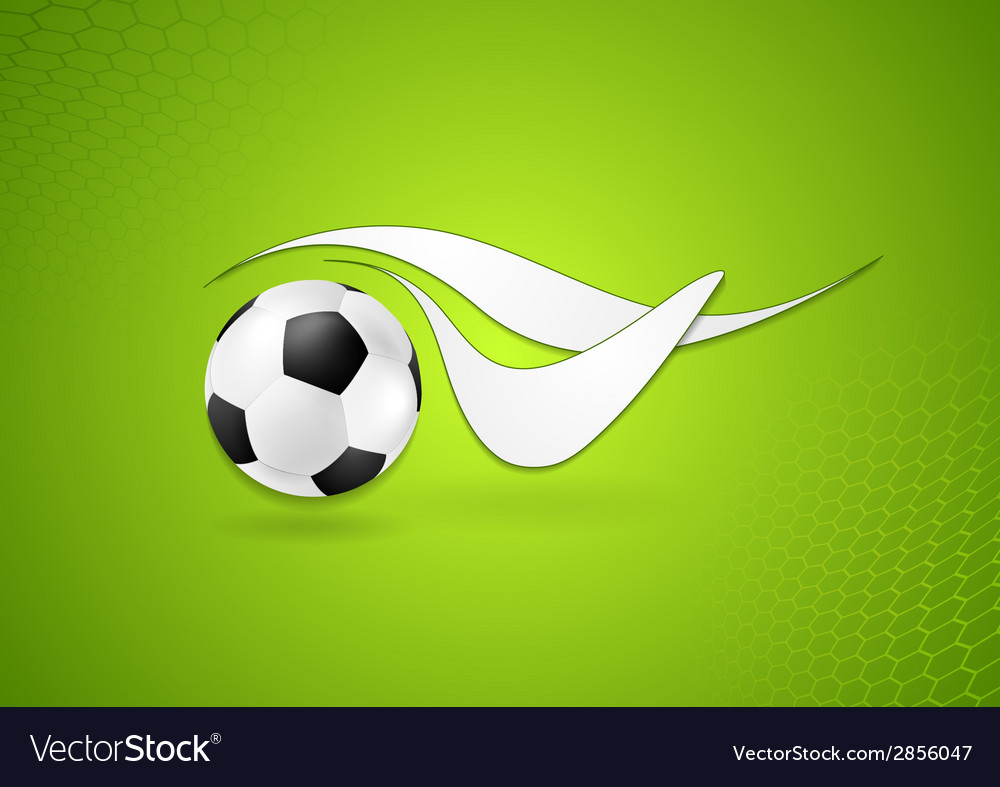 Bright soccer logo design vector | Price: 1 Credit (USD $1)