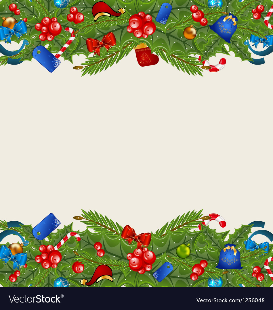 Christmas elegance background with holiday vector | Price: 1 Credit (USD $1)