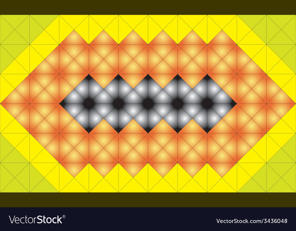 Mosaic structure vector | Price: 1 Credit (USD $1)