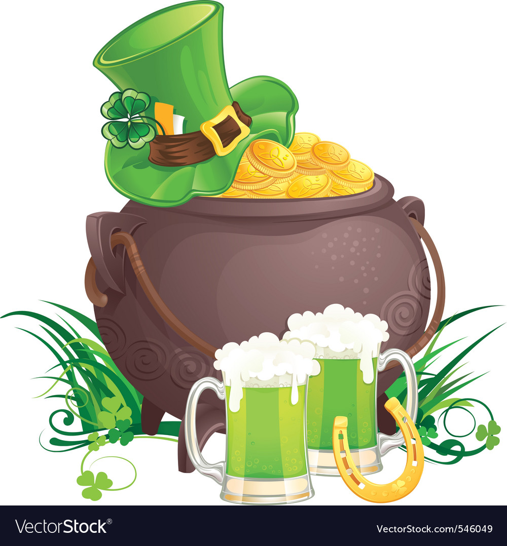 Irish cartoon vector | Price: 3 Credit (USD $3)