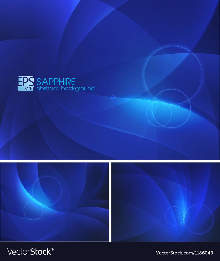 Sapphire abstract background vector | Price: 1 Credit (USD $1)