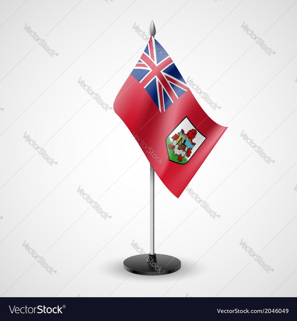 Table flag of bermuda vector | Price: 1 Credit (USD $1)