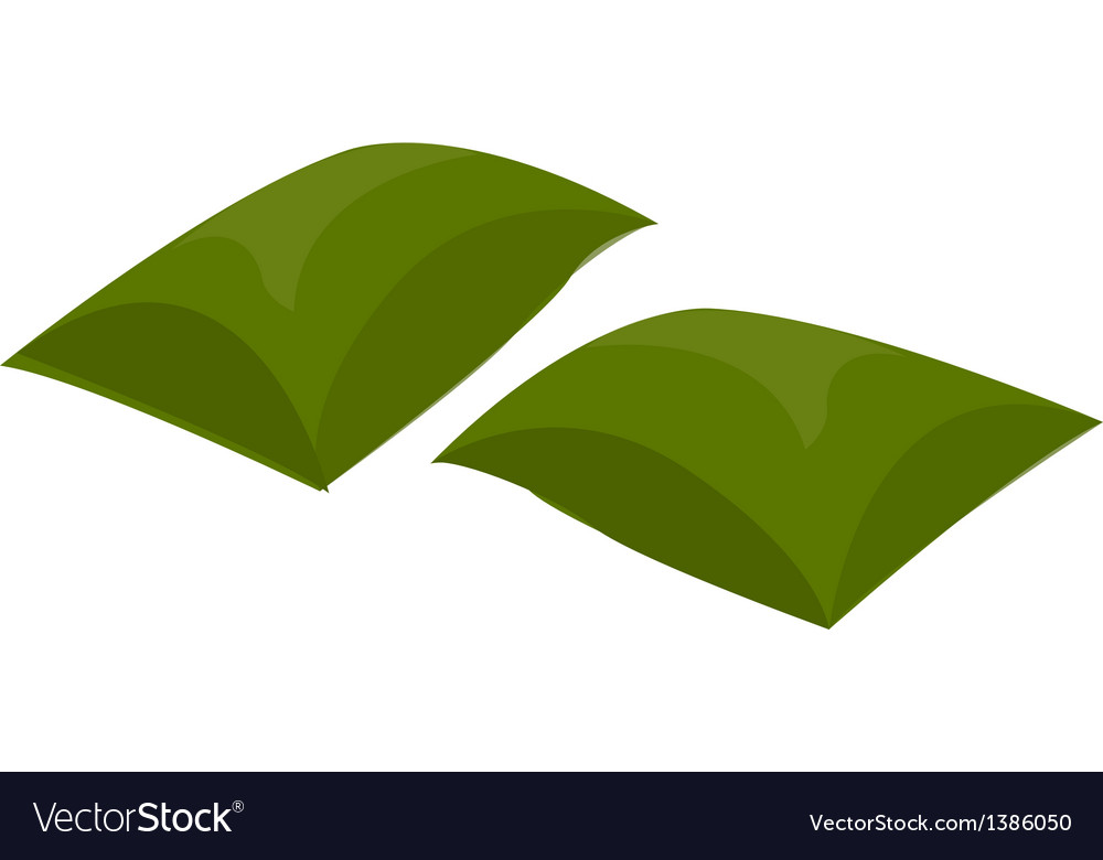 A view of a cushion vector | Price: 1 Credit (USD $1)