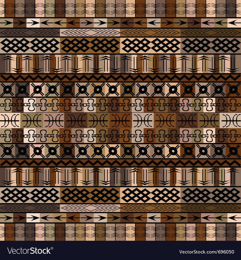 African motifs vector | Price: 1 Credit (USD $1)