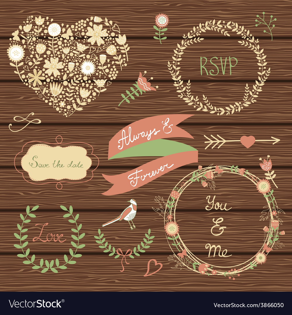 Elegant collection of graphic elements vector | Price: 1 Credit (USD $1)