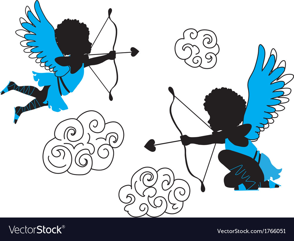 Cupids collection vector | Price: 1 Credit (USD $1)