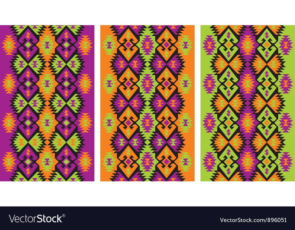 Mexican ethnic frieze vector | Price: 1 Credit (USD $1)