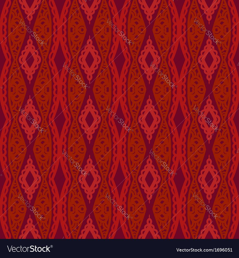 Stylized uzbek ethnic pattern vector | Price: 1 Credit (USD $1)