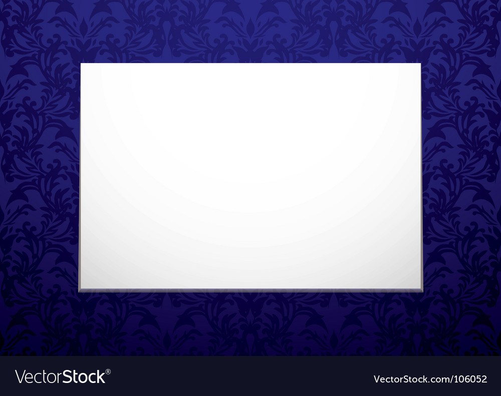 Blank canvas vector | Price: 1 Credit (USD $1)