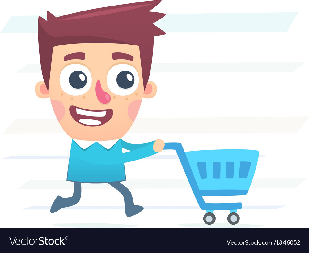 Whole day for shopping vector | Price: 1 Credit (USD $1)