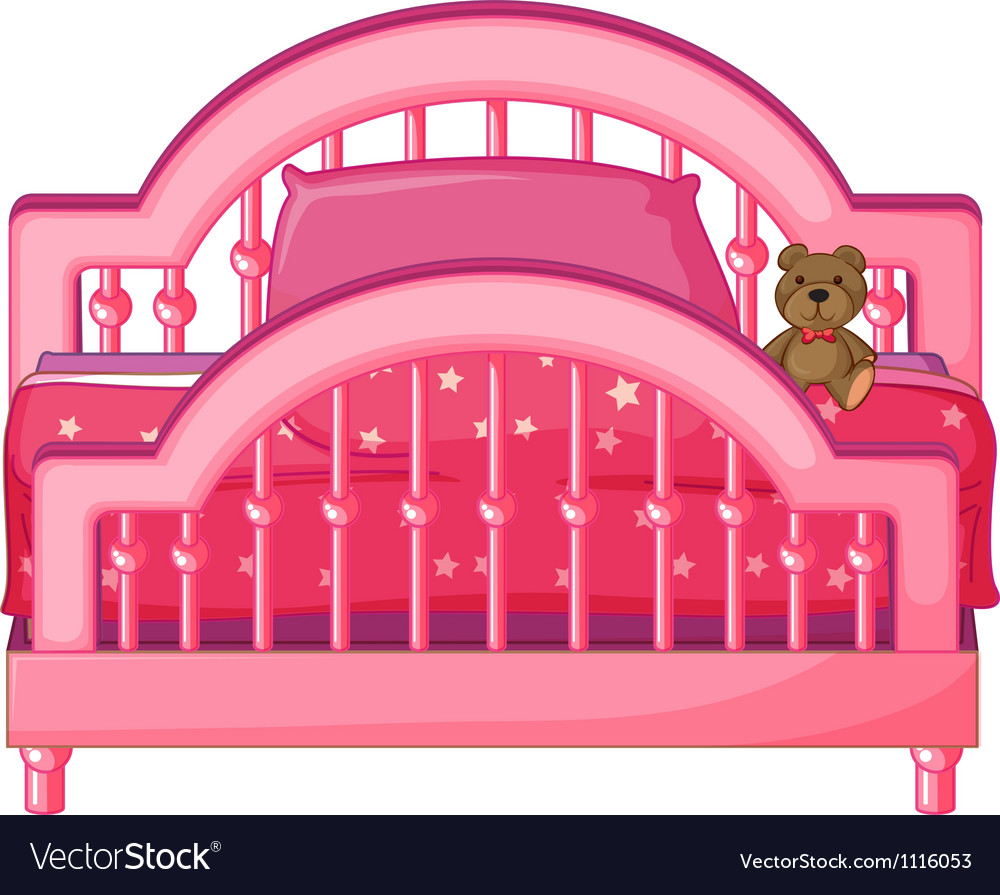 Childs bed vector | Price: 1 Credit (USD $1)