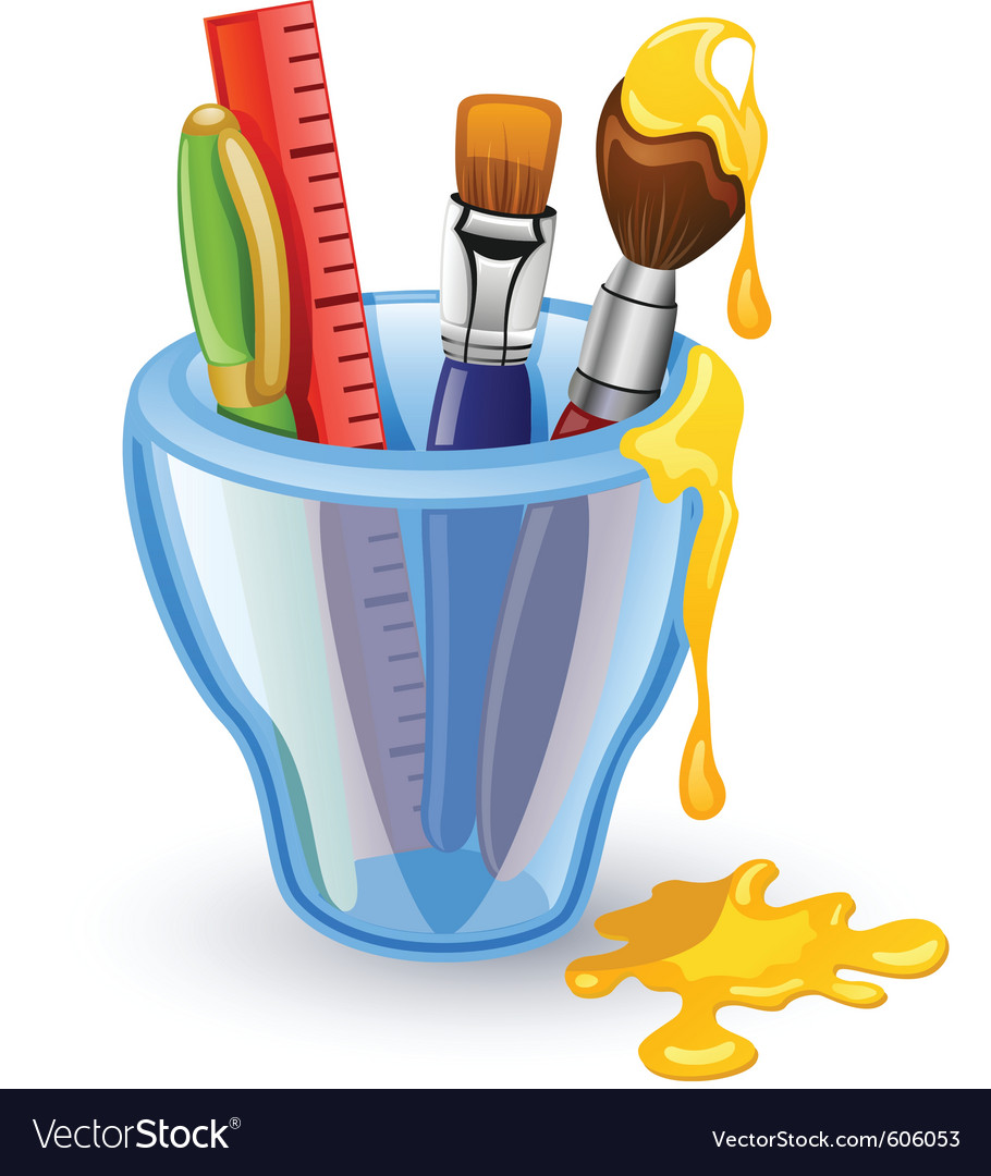 School tools vector | Price: 3 Credit (USD $3)