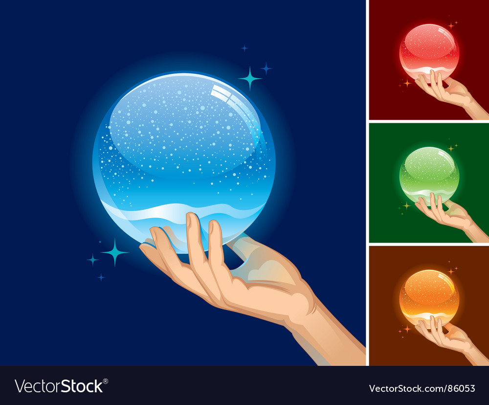 Snow globe for your object vector | Price: 1 Credit (USD $1)