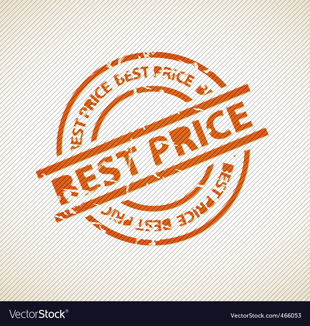 Stamp for best price vector   Price: 1 Credit (USD $1)