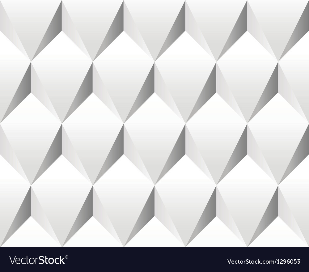 White volumetric abstract texture seamless vector | Price: 1 Credit (USD $1)