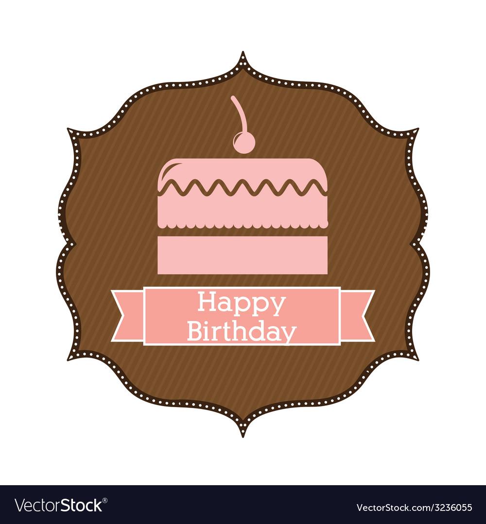 Happy birthday design vector   Price: 1 Credit (USD $1)