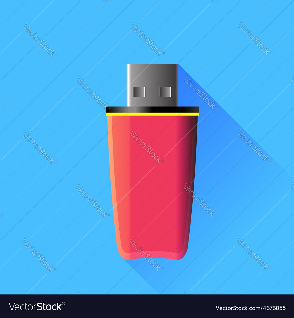 Pink memory stick vector | Price: 1 Credit (USD $1)