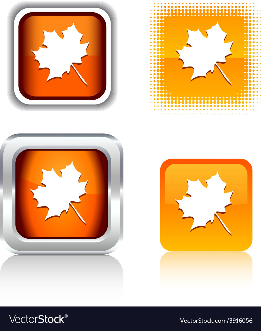 Autumn icons vector | Price: 1 Credit (USD $1)