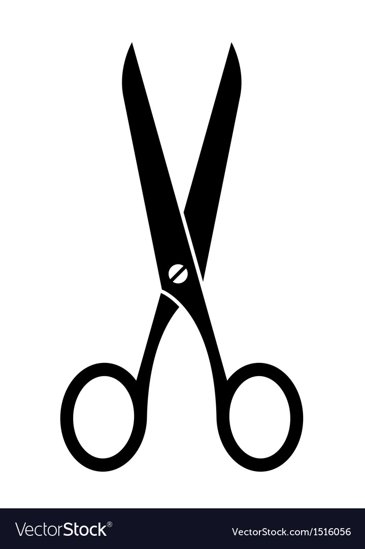 Scissors symbol vector | Price: 1 Credit (USD $1)