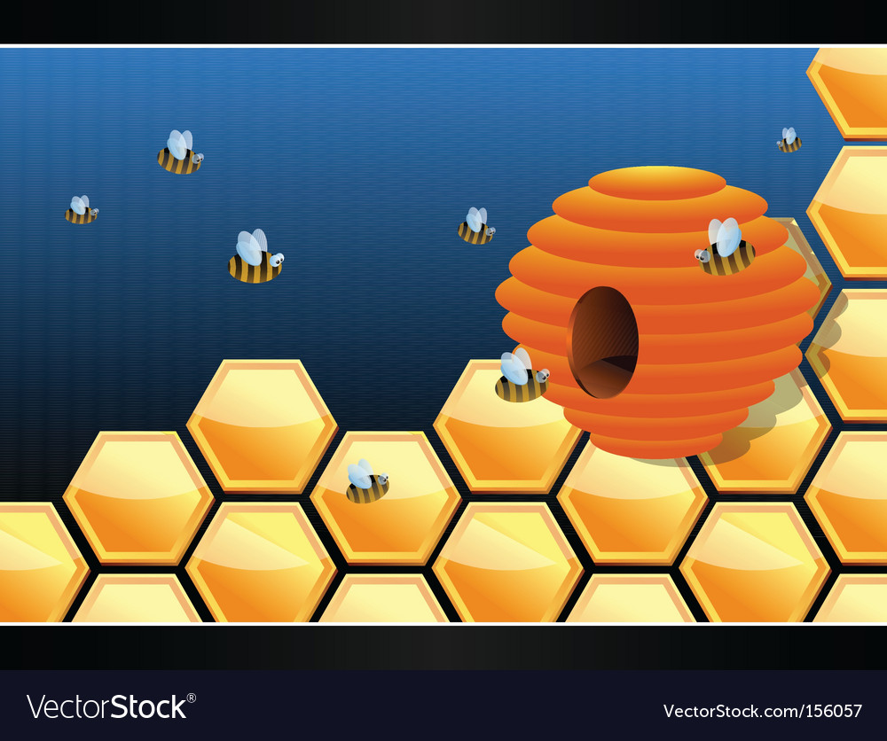 Beehive vector | Price: 1 Credit (USD $1)