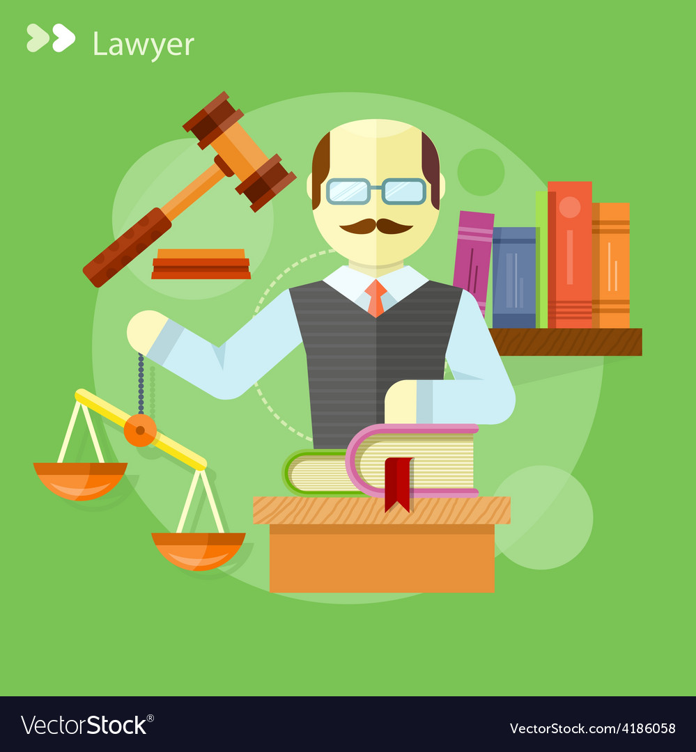 Lawyer icons concept vector | Price: 1 Credit (USD $1)