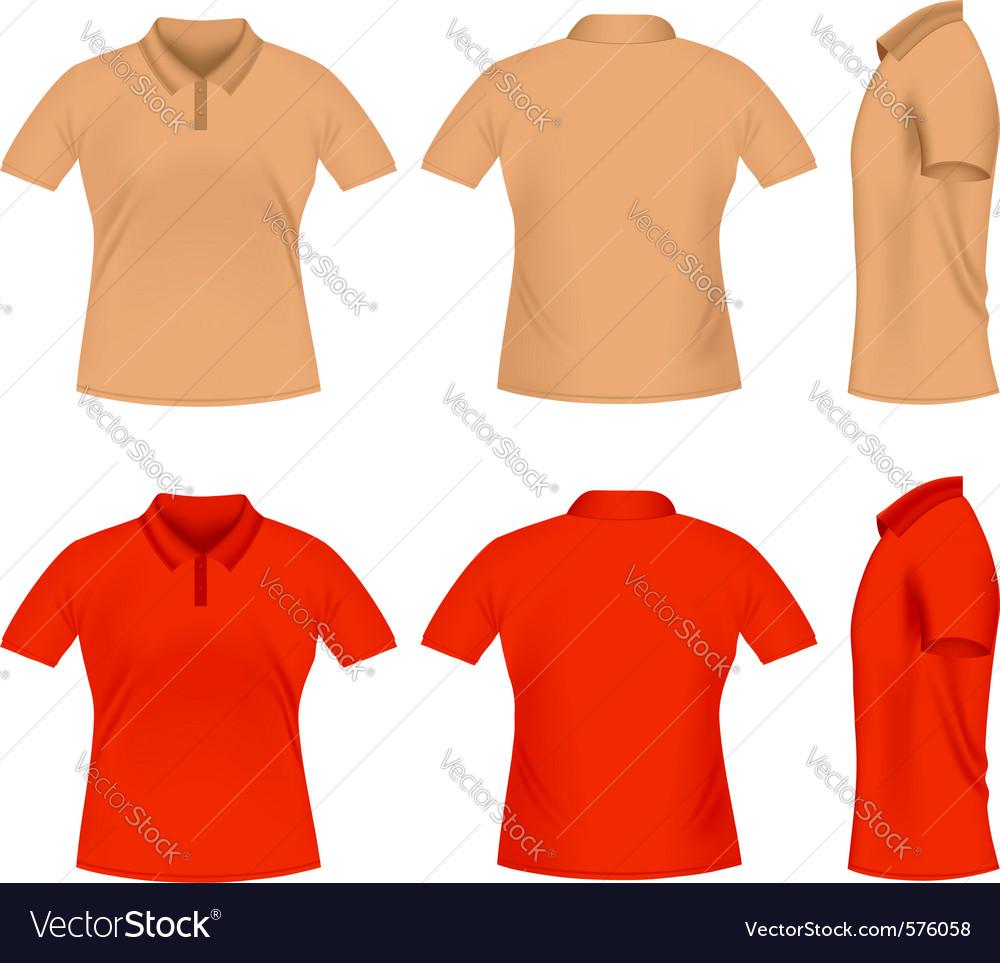 Men polo t shirts vector | Price: 1 Credit (USD $1)