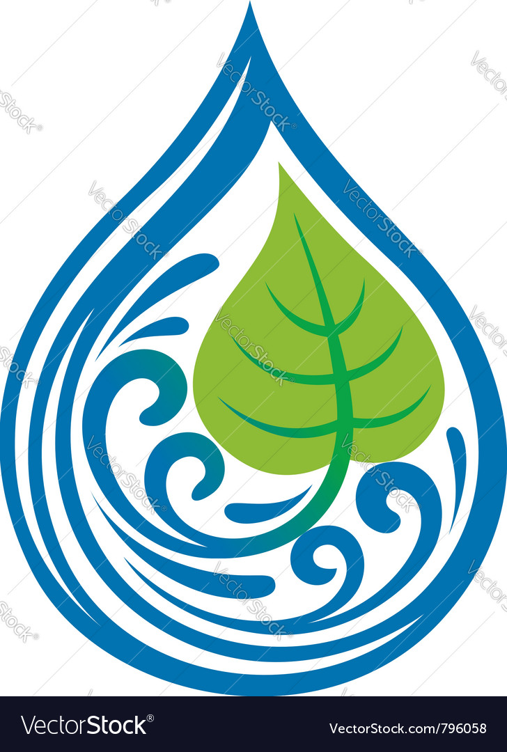 Water drop icon vector | Price: 1 Credit (USD $1)
