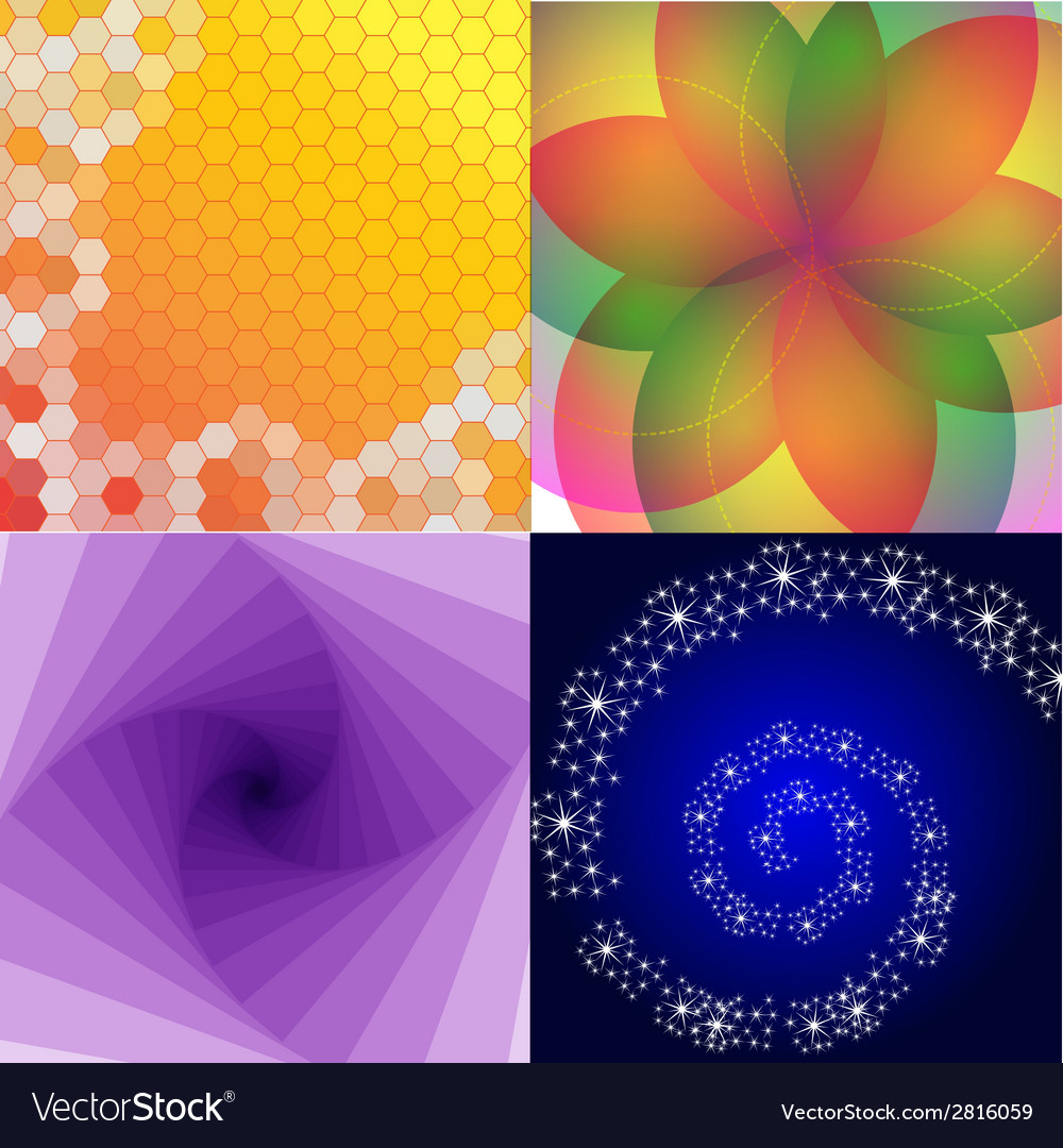 Abstract background set with place for your text vector | Price: 1 Credit (USD $1)