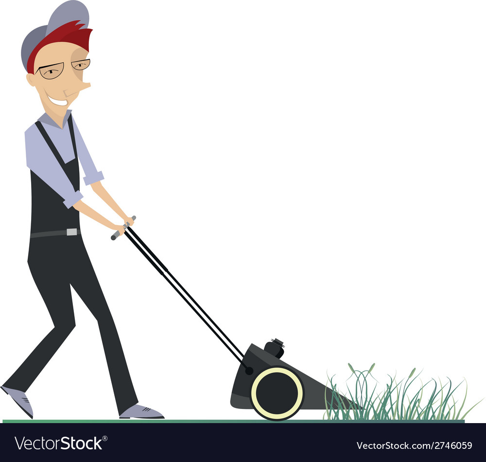 Lawnmower vector | Price: 1 Credit (USD $1)