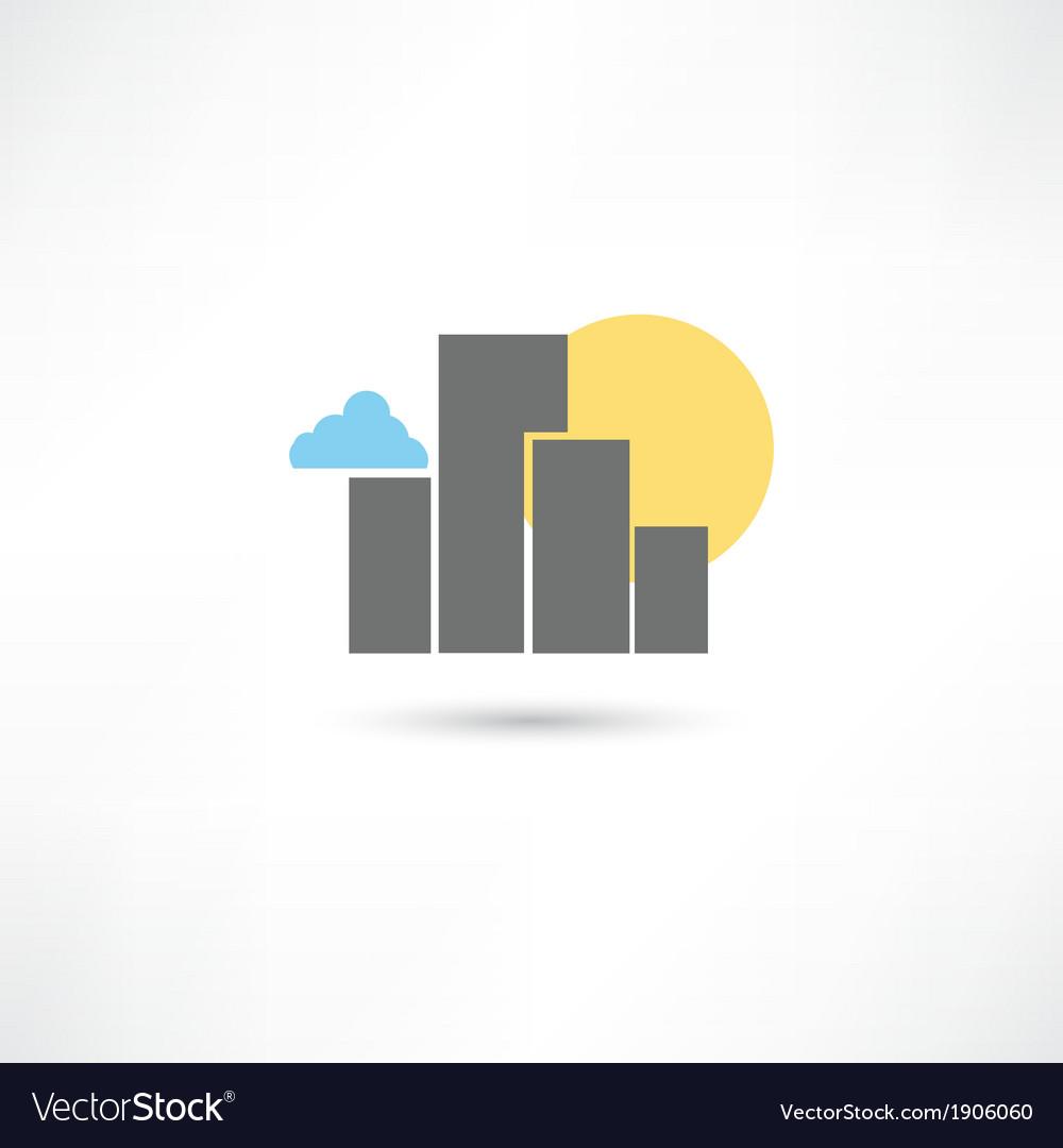 Big city vector | Price: 1 Credit (USD $1)