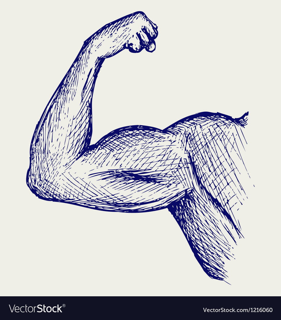 Strong biceps vector | Price: 1 Credit (USD $1)