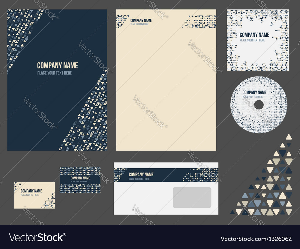 Corporate identity vector | Price: 1 Credit (USD $1)