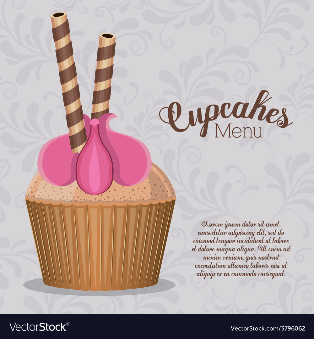 Desserts design vector | Price: 1 Credit (USD $1)