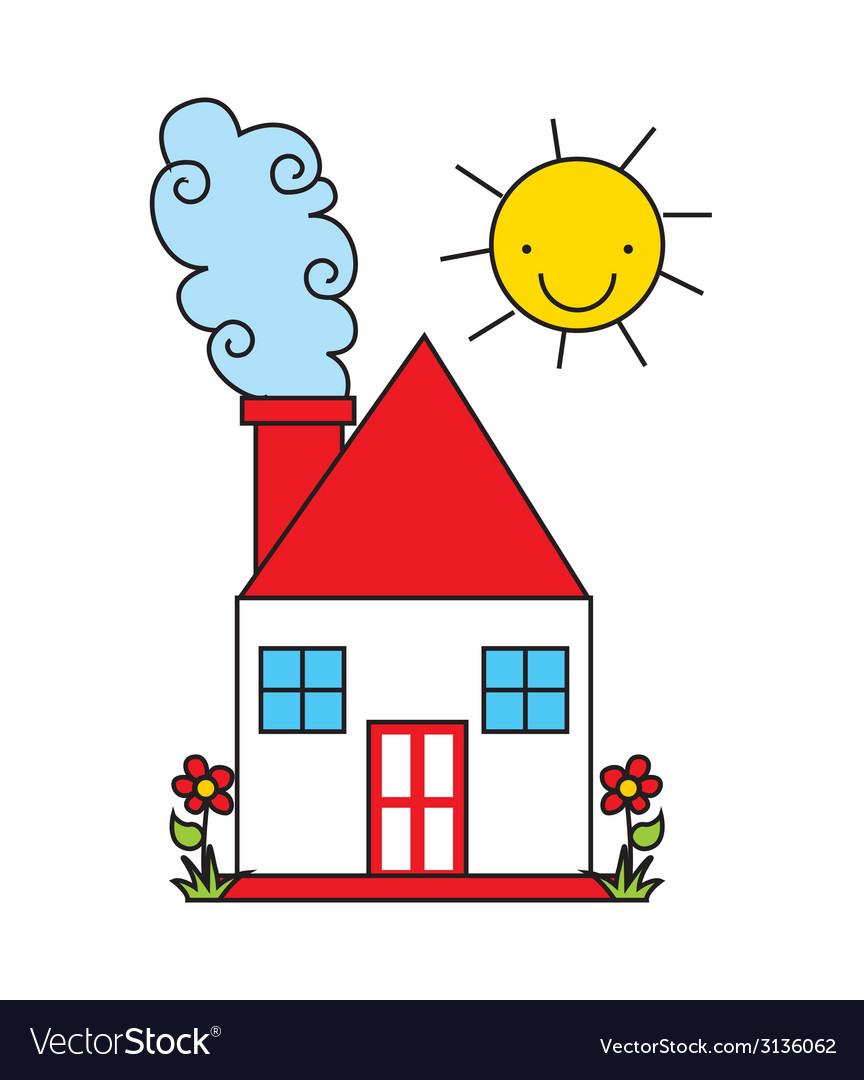 House design vector | Price: 1 Credit (USD $1)