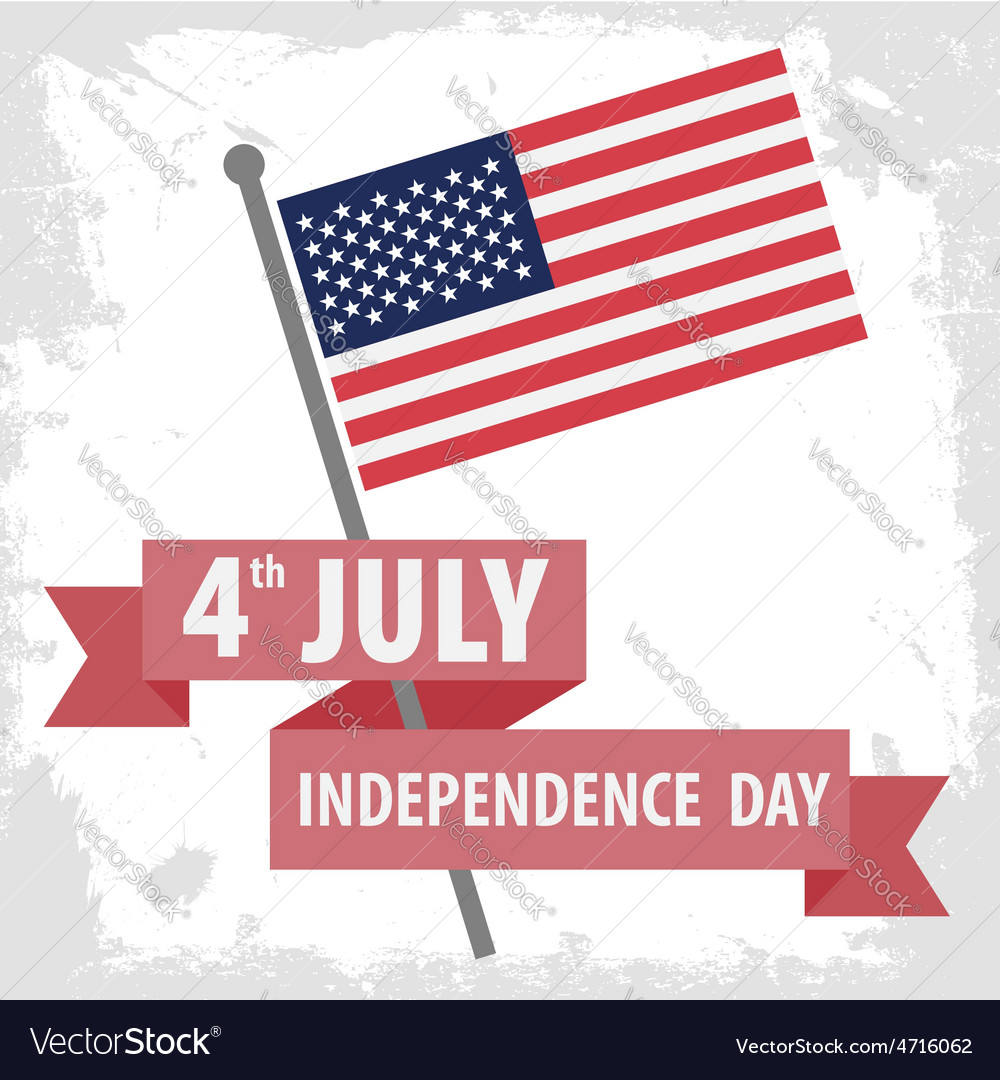 Independence day america vector | Price: 1 Credit (USD $1)