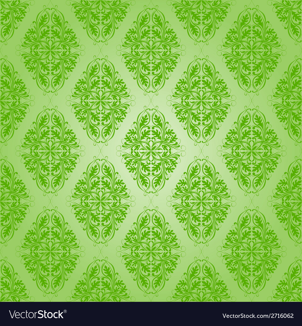 Seamless with lace floral pattern vector | Price: 1 Credit (USD $1)