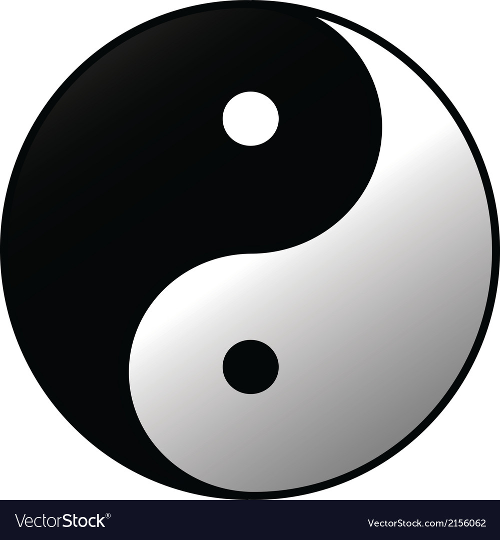 Yin-yang vector | Price: 1 Credit (USD $1)