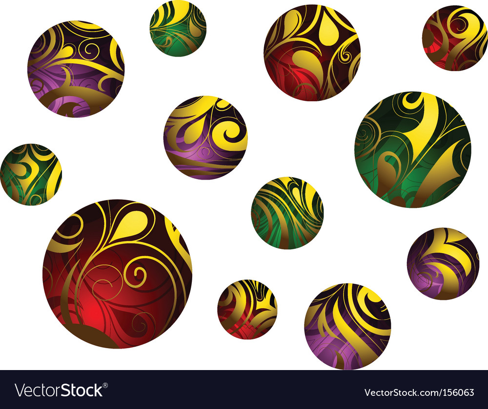 Abstract balls vector | Price: 1 Credit (USD $1)