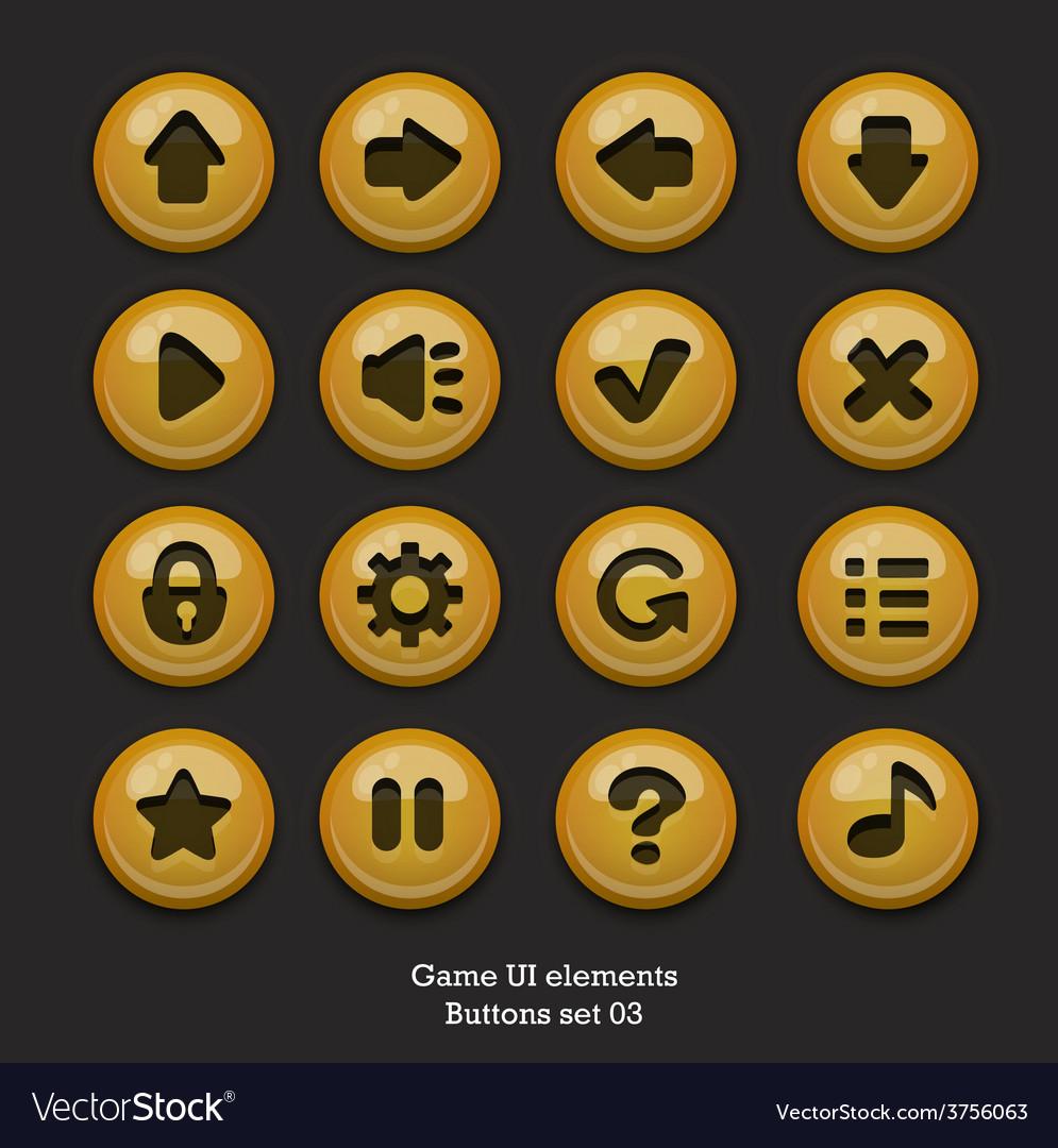 Buttonsforgameuiset03 vector | Price: 1 Credit (USD $1)