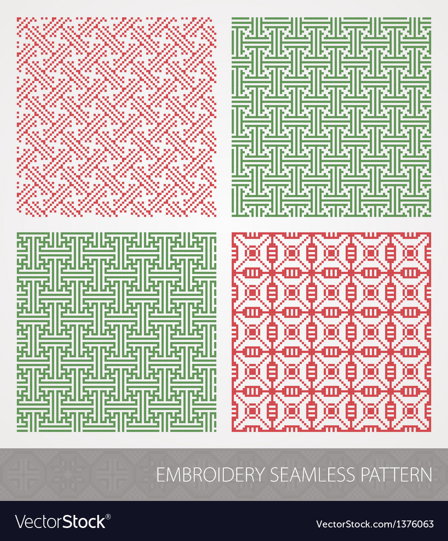 Embroidery pattern vector | Price: 1 Credit (USD $1)