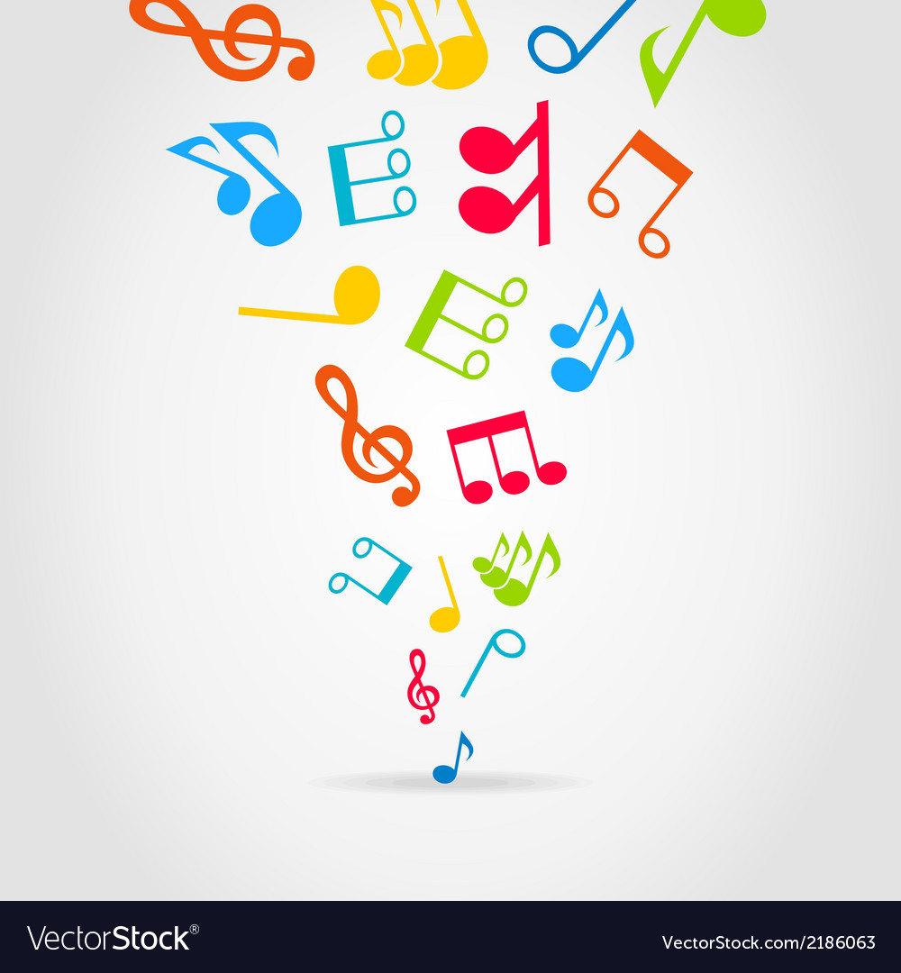 Music wind vector | Price: 1 Credit (USD $1)